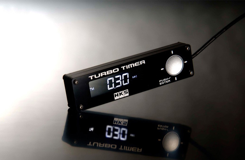 HKS Type 1 Turbo Timer Black - 41001-AK010