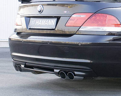 Hamann Rear Center Molding Diffuser 4-Tailpipes BMW 7 Series 09-12 - 10 001 140