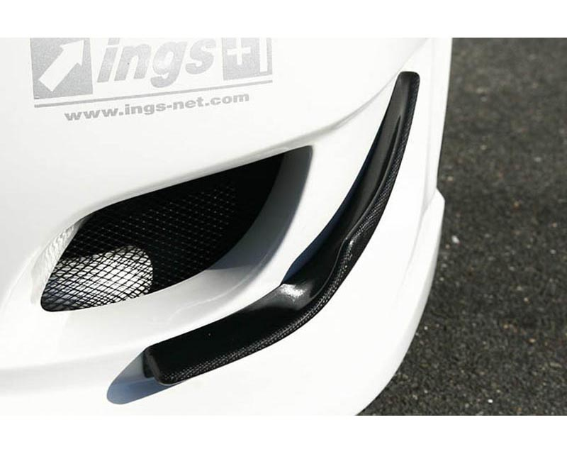INGS N Spec Carbon Front Canards Mitsubishi EVO X 08-12 - 00152-01103