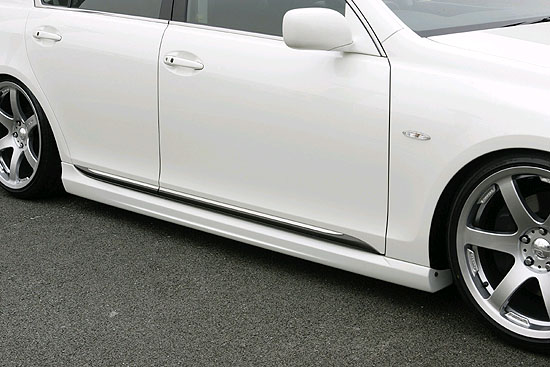 INGS LX Sport Side Skirts FRP Lexus GS350 06-09 - 00239-00202