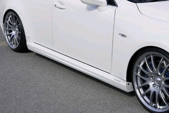 INGS LX Sport Side Skirts Hybird Lexus IS350/250 06-11 - 00238-00201