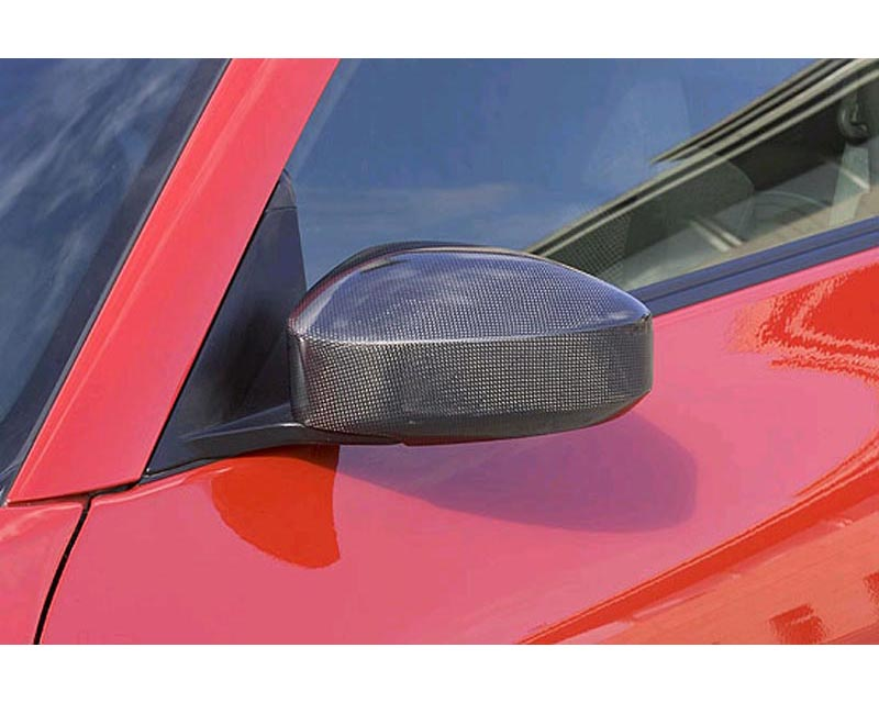 INGS LX Sport Carbon Door Mirror Cover Nissan 350z 06-08 - 00001-05803