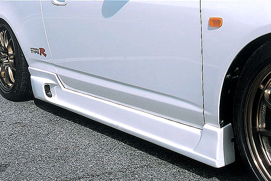 INGS N-Spec Side Skirts Hybrid Acura RSX 7/01-8/04 - 00102-00201