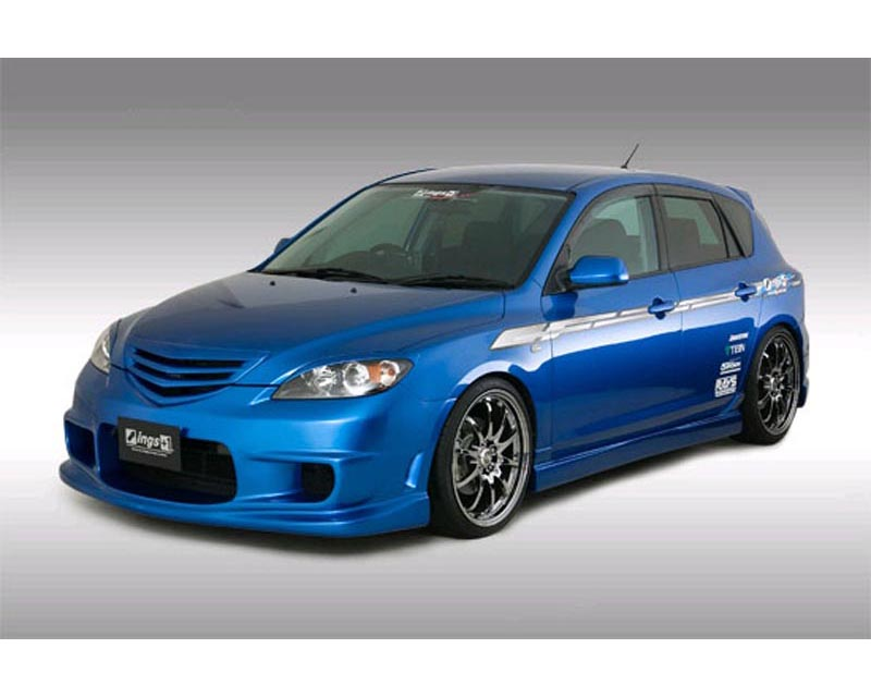 INGS N-Spec 3 pc Body Kit FRP Mazda 3 JDM 10/03-5/06 - 00129-01802