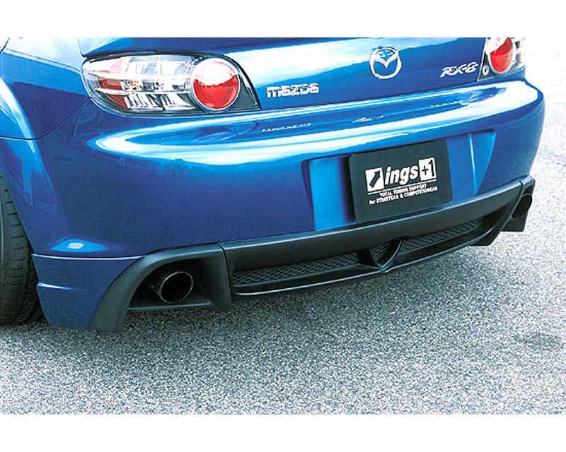 INGS N-Spec Rear Mud Guard Hybrid Mazda RX-8 SE3P 03-11 - 00111-02801