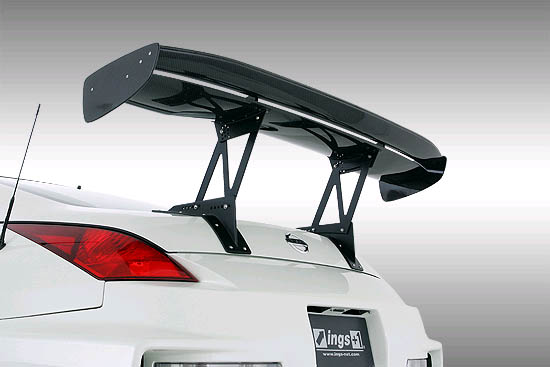 INGS Z-Power Wing 1480mm Wet Carbon Nissan 350Z 03-09
