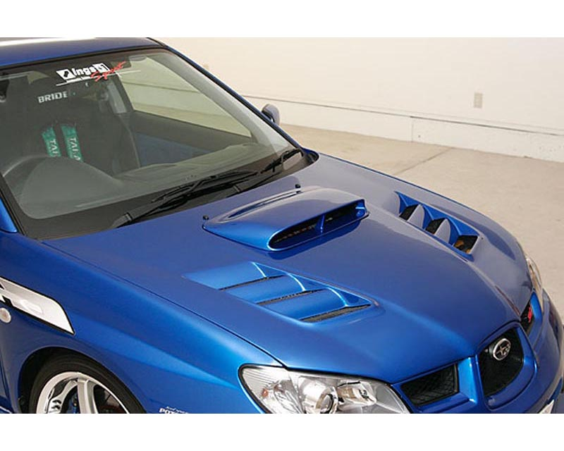 INGS N-Spec 2 pc Body Kit FRP Subaru WRX STI 05-07 - 00134-06702