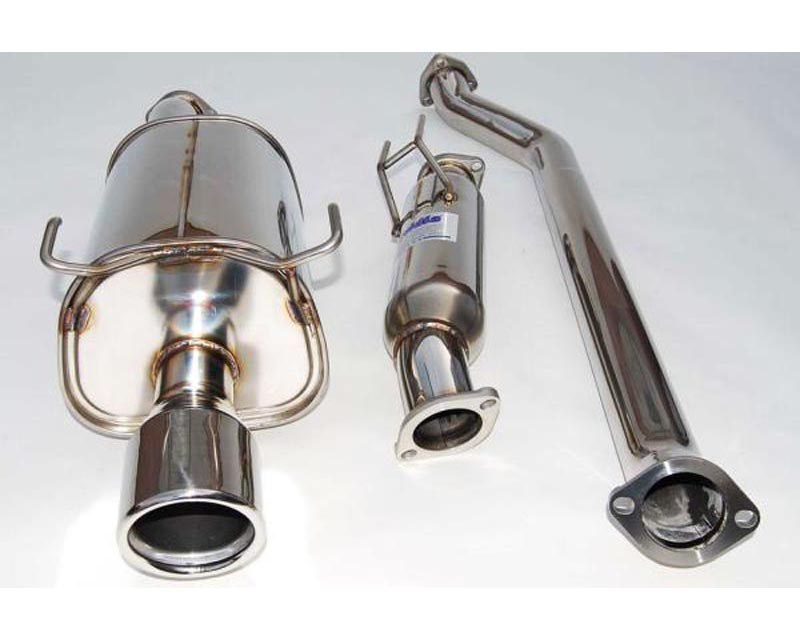 Invidia Q300 Catback Exhaust Stainless Steel Rolled Tip Acura RSX Type-S 02-06 - HS01AR1G3S