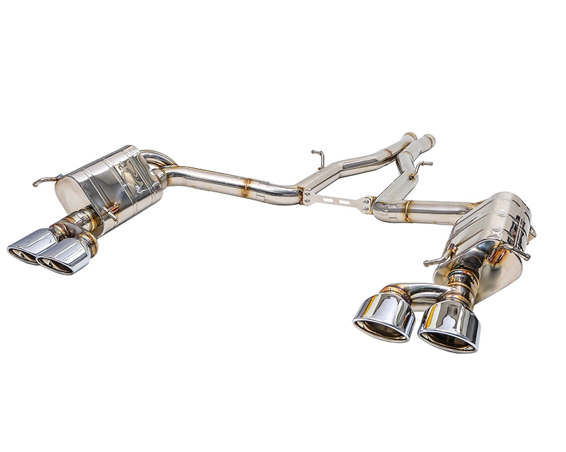 IPE Stainless Steel Valvetronic Exhaust System with Remote Mercedes-Benz C63 AMG W204 08-14 - MB002