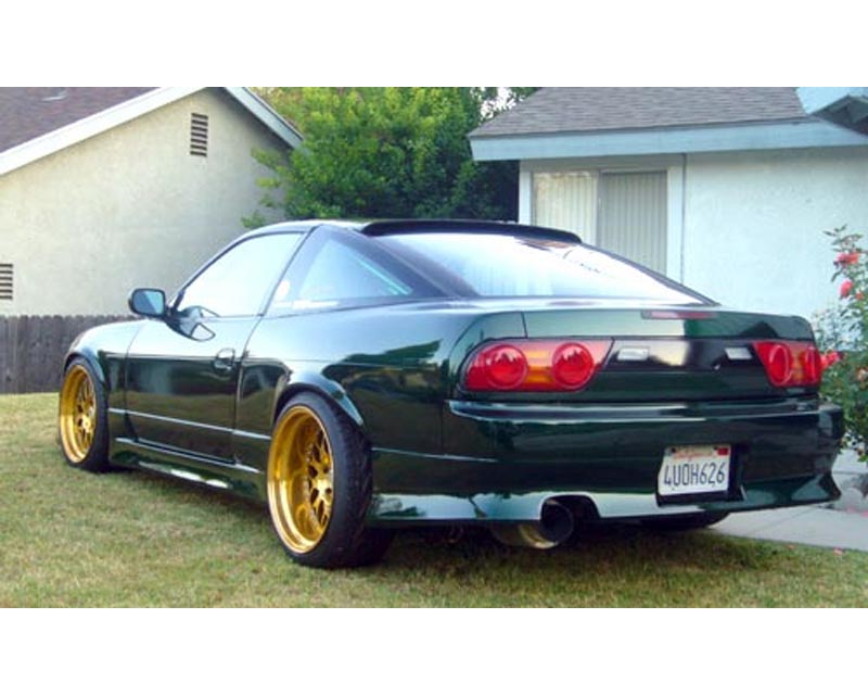 JP Type 2 Side Skirts Nissan 180SX S13 89-94 - JP 180 TYPE-2 SS
