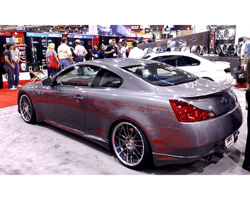 JP Side Skirt Diffusers Infiniti G37 Coupe S 07-12 - JP G37 SS