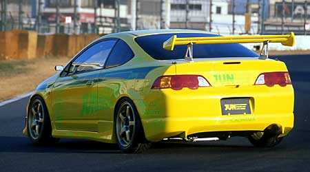 JUN Rear Under Spoiler Acura RSX Type R DC - Acura rsx type r wing