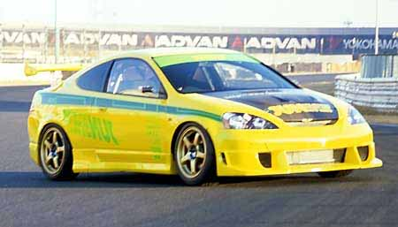 JUN Side Skirts Acura RSX Type R DC - Acura integra type r side skirts