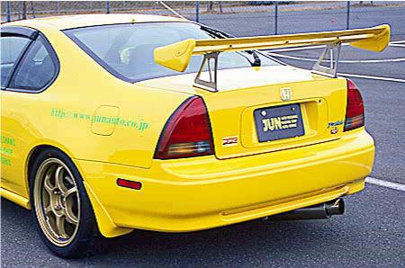 JUN Rear Spoiler GT-Wing Honda Prelude BB1/BB4 - 8004W-H003