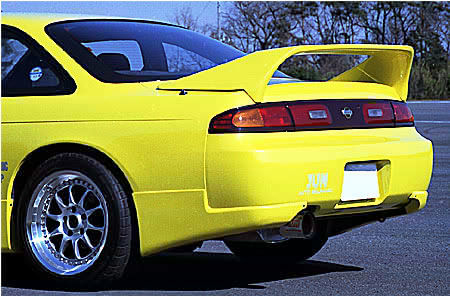 JUN Rear Spoiler Nissan 240SX S14 - 8004W-N003