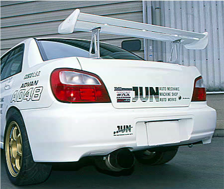 JUN Rear Spoiler GT-Wing Subaru WRX GDB 02-07