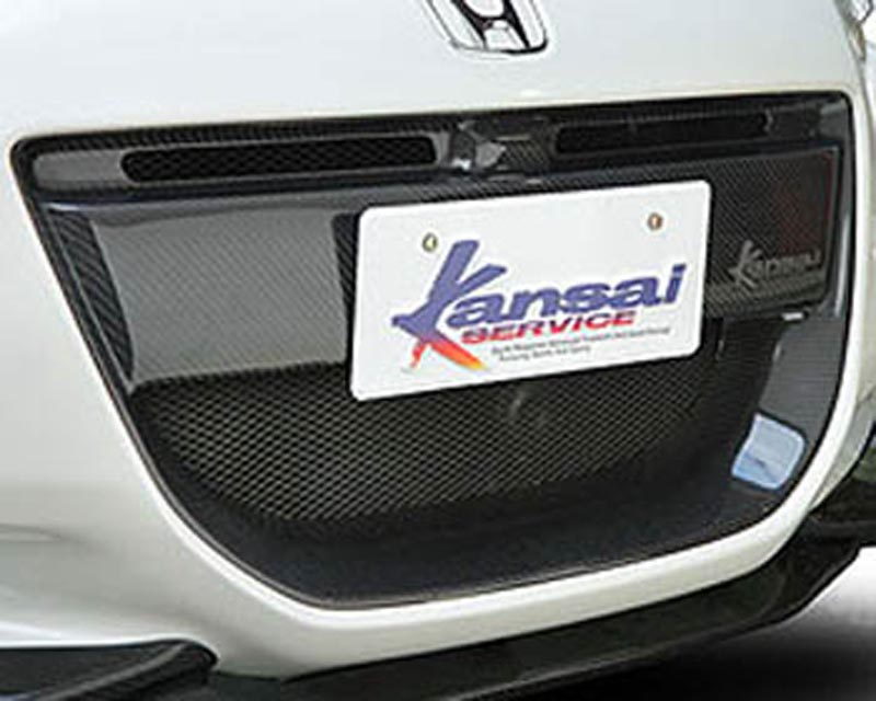 Kansai Carbon Fiber Grill Honda CR-Z 11-12 - KAH002