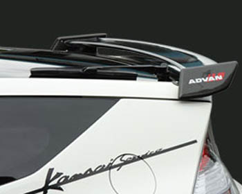 Kansai Carbon Fiber Rear Rear Wing Honda CR-Z 11-12