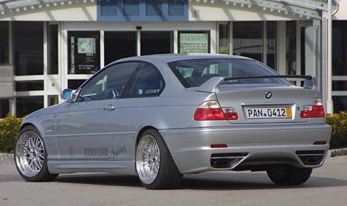 Kerscher M-Line rear Bumper w/ PDC BMW 3 Series E46 99-05 - 3067362KER