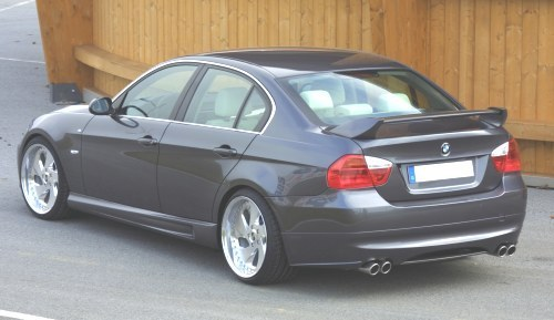 Kerscher Spirit Rear apron w/ Carbon Diffuser LH/RH Ext opening BMW 3 Series E90 06-11 - 3063362KER