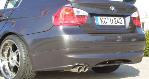 Kerscher Spirit Rear apron w/ Carbon Diffuser BMW 3 Series E90 06-11 - 3063362/1KER