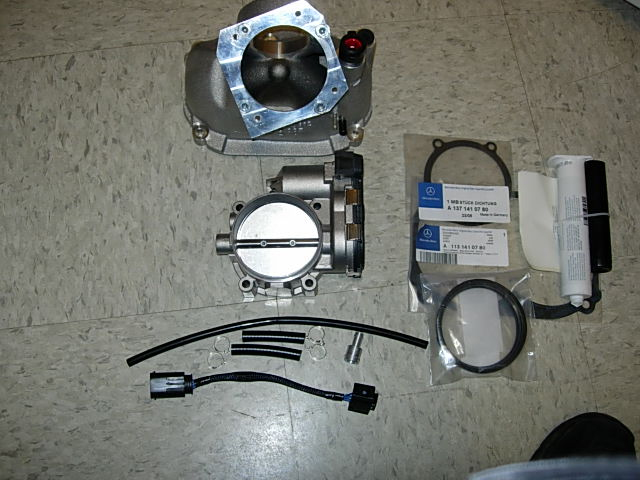 Kleemann Throttle Body Mercedes-Benz SL Class V8 AMG Kompressor R230 00-06 - KLM-TB-V8-R230