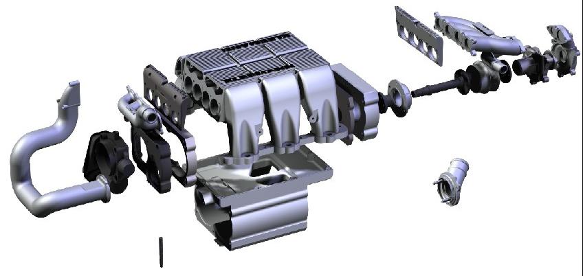 Kleemann M112 SuperCharger System Mercedes-Benz CLK320 & CLK350 V6 W209 02-09 - KLM-KOM-V6-W209