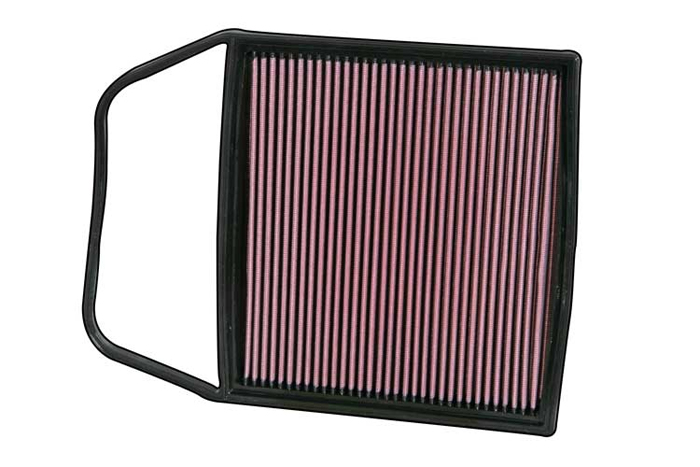K&N Air Filter BMW 335i 3.0L L6 2007
