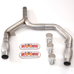 Kooks Y Pipe With Catalytic Converters Chevrolet Camaro LT1 93-97