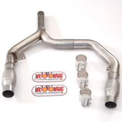 Kooks Y Pipe With Catalytic Converters Chevrolet Camaro LT1 93-97 - 22403200