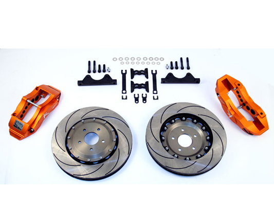 Ksport SuperComp 8 Piston 400mm Front Big Brake Kit Acura Integra Type R 97-01 - BKAC021-961SO