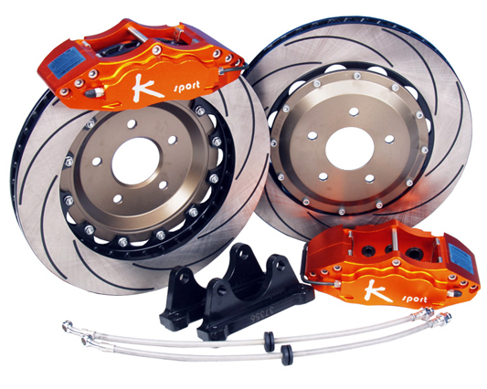 Ksport ProComp 6 Piston 286mm Front Big Brake Kit Acura NSX 90-05 - BKAC040-611SO