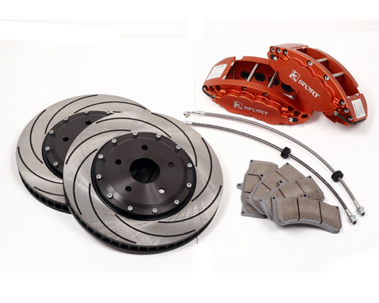 Ksport SuperComp 8 Piston 400mm Rear Big Brake Kit Honda Civic With Rear Disc 96-00 - BKHD030-862SO
