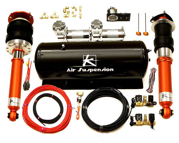 Ksport Airtech Basic Air Suspension System Volkswagen Passat 4DR 2wd 05-11