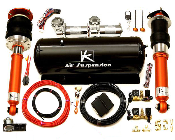 Ksport Airtech Pro Air Suspension System Volkswagen Passat Wagon 2wd 05-11