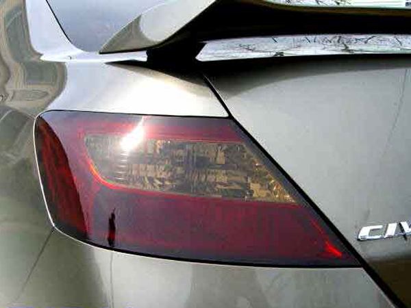 Lamin-X Protective Film Taillight Covers Honda Civic Coupe 2006-2011 - H216