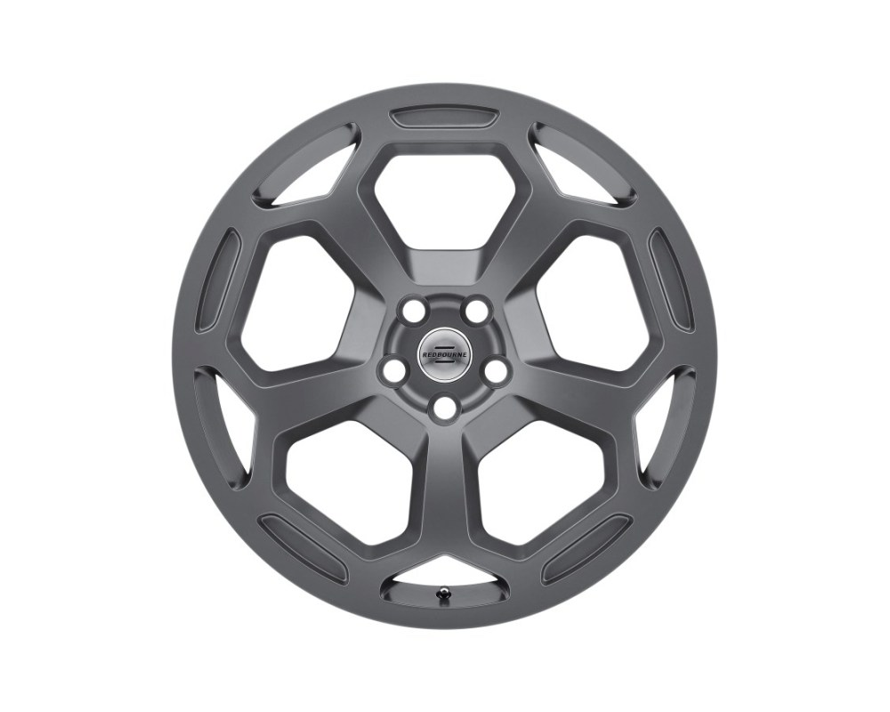 Redbourne Bashford Matte Gunmetal Wheel 22x10 5x120 37mm CB72.6 - 2210RBA375120G72