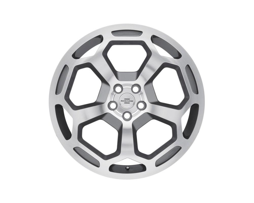Redbourne Bashford Wheel 20x9.5 5x120 32mm Gunmetal w/ Mirror Cut Face - 2095RBA325120S72
