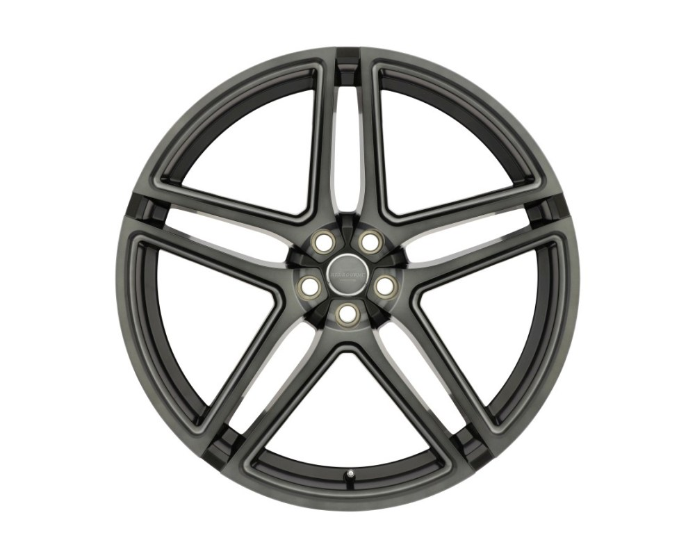 Redbourne Crown Matte Black w/ Machined Face & Ball Milled Spoke & Translucent Clear Tint Wheel 22x10 5x120 35mm CB72.6 - 2210CWN355120F72