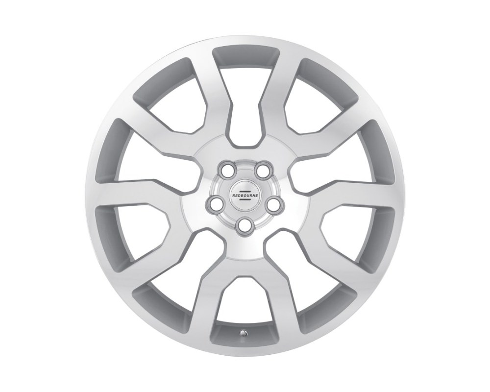 Redbourne Hercules Silver w/ Mirror Cut Face Wheel 20x9.5 5x120 32mm CB72.6 - 2095RHE325120S72
