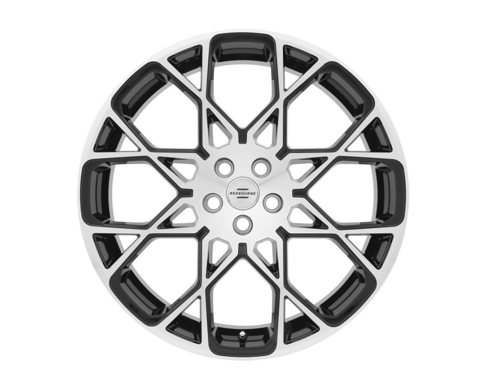 Redbourne Meridian Wheel 22x10 5x120 37mm Gloss Black w/ Mirror Cut Face - 2210RDE375120F72