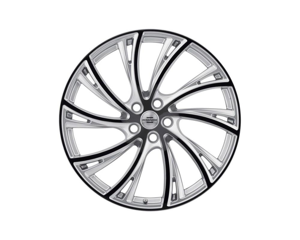 Redbourne Noble Wheel 20x9.5 5x120 32mm Gloss Titanium w/ Gloss Black Face Left - 2095RDB325120S72L