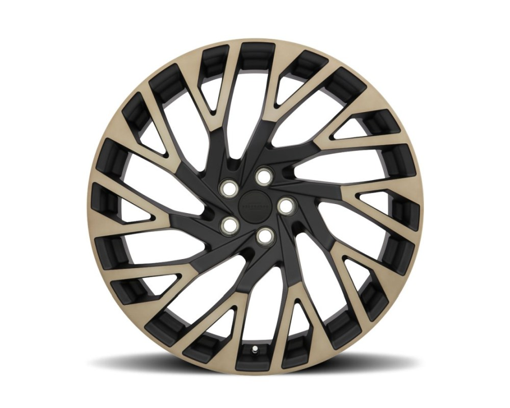 Redbourne Westminster Matte Black w/ Machined Face & Dark Matte Tint Wheel 22x10 5x120 37mm CB72.6 - 2210RWE375120M72R