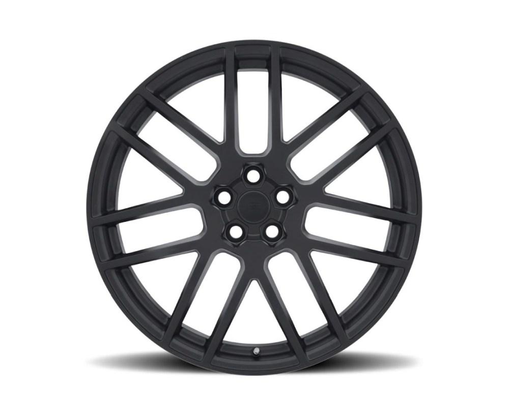 Redbourne Windsor Matte Black w/ Gloss Black Face Wheel 22x9 5x108|5x4.25 35mm CB63.3 - 2290WND355108M63