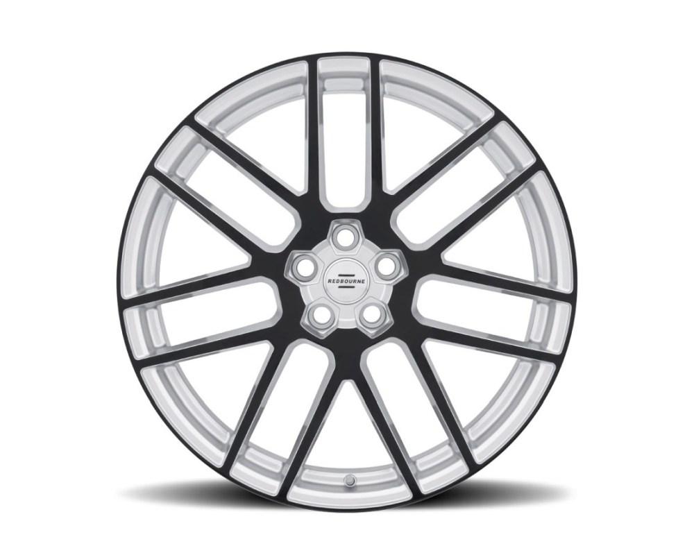 Redbourne Windsor Wheel 22x10.5 5x120 35mm Silver w/ Gloss Black Face - 2205WND355120S72