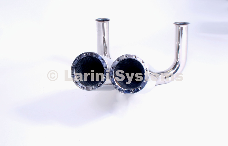 Larini Systems Central Exit Revolver Tail Pipes Lamborghini Diablo 5.7 90-00