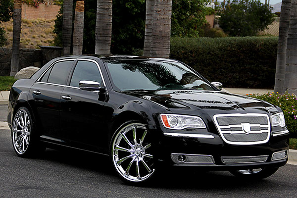 lexani mesh grille chrysler 300 05 08. Black Bedroom Furniture Sets. Home Design Ideas