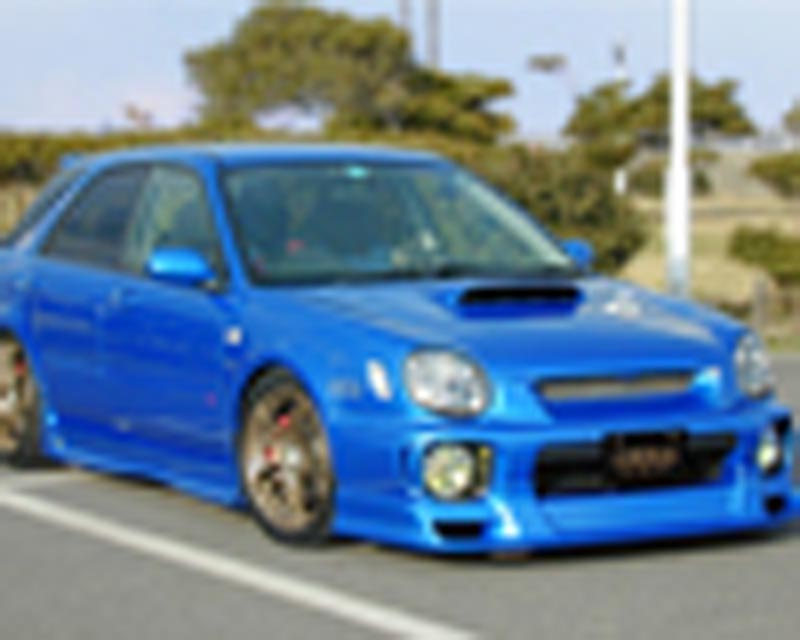 Liberal Front Lip Spoiler Subaru Wagon WRX 02-03 - 1012-0100601a