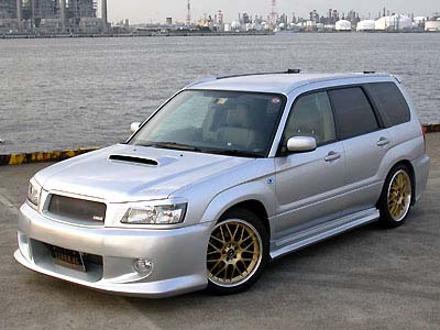 liberal full 5pc body kit subaru forester. Black Bedroom Furniture Sets. Home Design Ideas