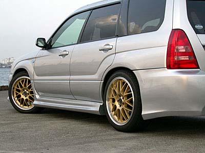 Liberal Fiberglass Side Skirts Subaru Forester - libfor04-ss